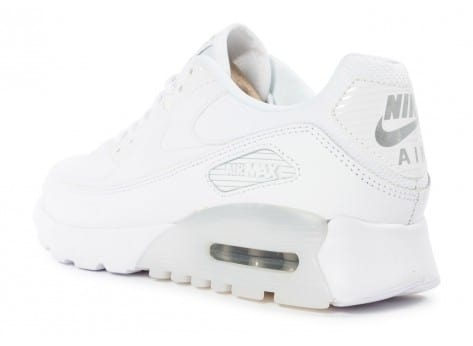 Chaussures Nike Air Max 90 Ultra Essential blanche vue arrière