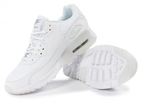 Chaussures Nike Air Max 90 Ultra Essential blanche vue intérieure