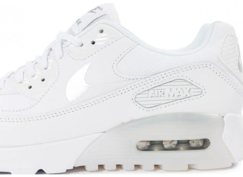 Chaussures Nike Air Max 90 Ultra Essential blanche vue dessus