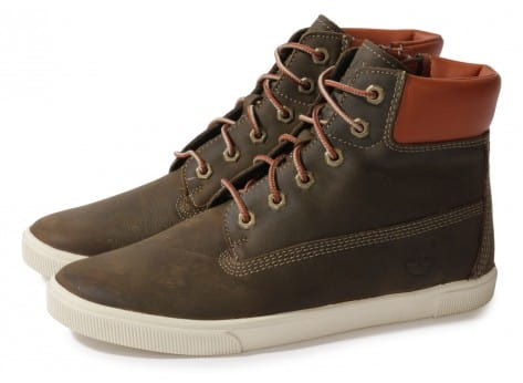 Cliquez pour zoomer Chaussures Timberland EARTHKEEPERS 2.0 CUPSOLE BOOT MARRON vue extérieure