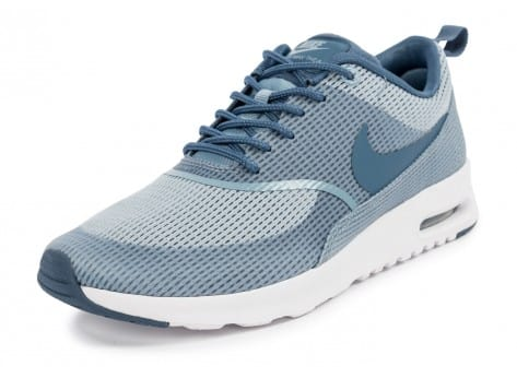 Chaussures Nike Air Max Thea TXT blue grey vue avant