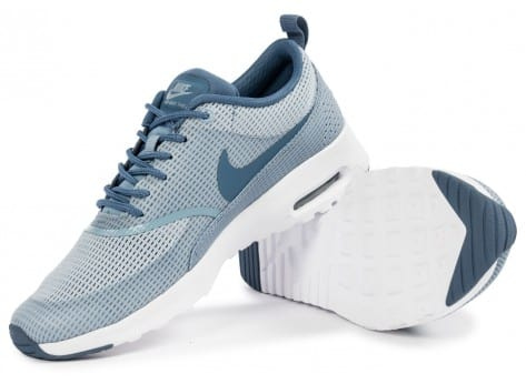 Chaussures Nike Air Max Thea TXT blue grey vue intérieure