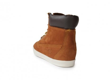 Chaussures Timberland Earthkeepers Glastenbury marron vue arrière