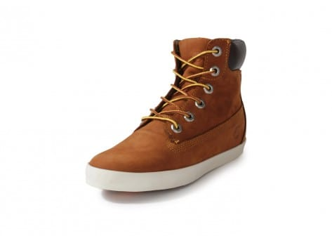 Chaussures Timberland Earthkeepers Glastenbury marron vue avant
