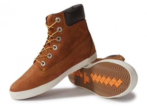 Chaussures Timberland Earthkeepers Glastenbury marron vue intérieure