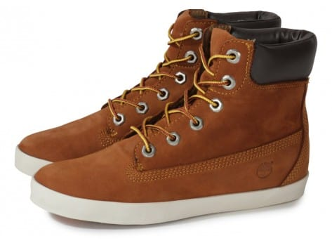 Chaussures Timberland Earthkeepers Glastenbury marron vue extérieure