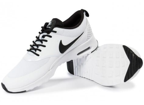 Chaussures Nike Air Max Thea blanche vue intérieure