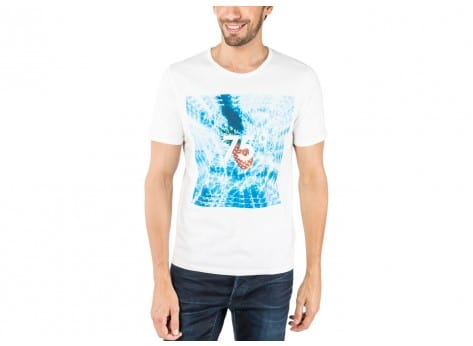 Tee-shirt Jack & Jones T-Shirt Photo blanc