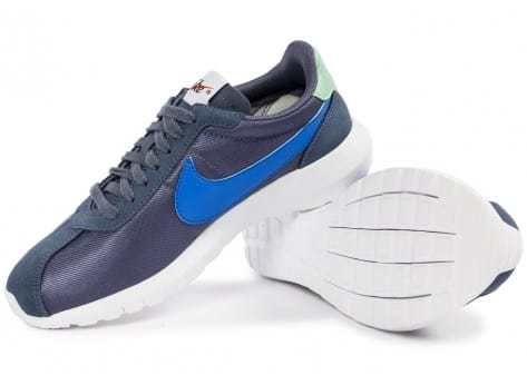 Chaussures Nike Roshe LD-1000 W bleue vue dessus