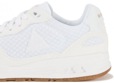 Chaussures Le Coq Sportif LCS R900 Sparkly blanche vue dessus