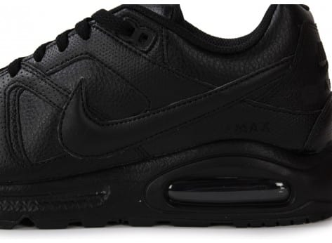 new products 99a4d 1f4a0 ... air max command black 8124 chaussures nike air max command leather noire  .