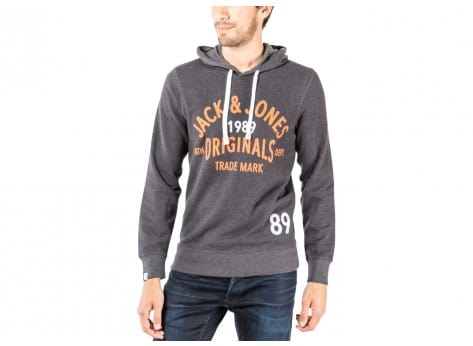 Sweat Jack & Jones Sweat à Capuche Athletic anthracite