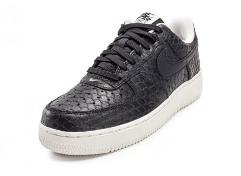 Chaussures Nike Air Force 1 07 LV8 Snake noire vue arrière