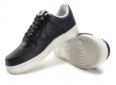 Chaussures Nike Air Force 1 07 LV8 Snake noire vue intérieure