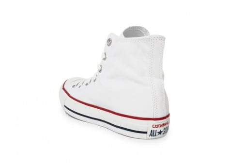 Chaussures Converse Chuck Taylor All Star Hi blanche vue arrière