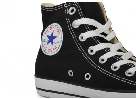 Chaussures Converse Chuck Taylor All Star Hi noire vue dessus