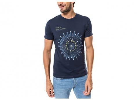 Tee-shirt Jack & Jones T-Shirt Float Belkin bleu marine
