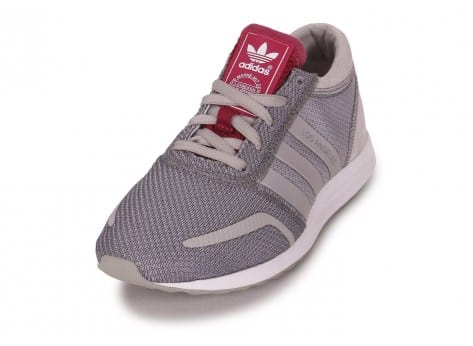 Chaussures adidas LOS ANGELES ARGENT vue avant