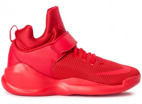 Chaussures Nike Kwazi Rouge vue dessous