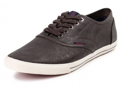 Chaussures Jack & Jones Spider Synthetique marron vue avant