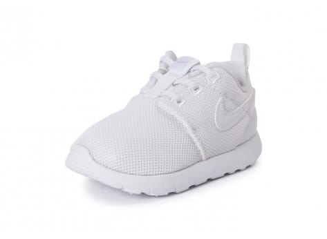 Chaussures Nike Roshe One Bébé blanche vue avant