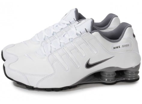 Nike Shox Blanche Homme