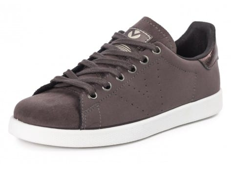 Chaussures Victoria Deportivo Suede anthracite vue avant