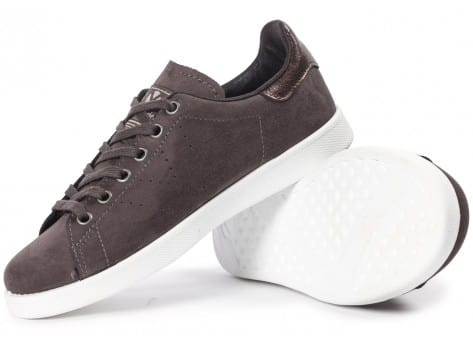 Chaussures Victoria Deportivo Suede anthracite vue intérieure