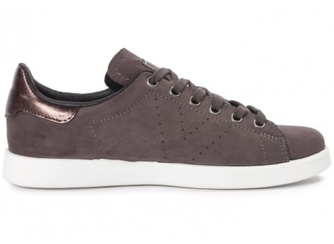 Chaussures Victoria Deportivo Suede anthracite vue dessous