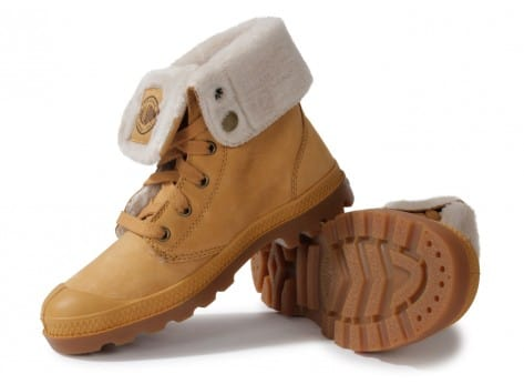 Chaussures Palladium BAGGY LS AMBER OR vue intérieure