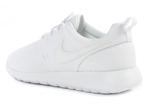 Chaussures Nike Roshe One Junior blanche vue arrière