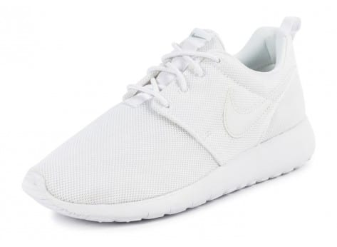 Chaussures Nike Roshe One Junior blanche vue avant
