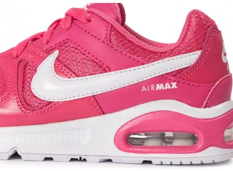 Chaussures Nike Air Max Command Enfant rose vue dessus