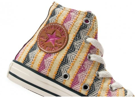 Chaussures Converse Chuck Taylor All-Star Camp Craft Enfant vue dessus