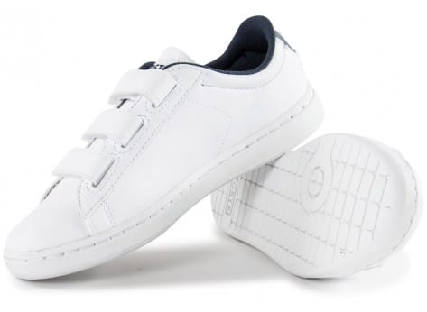 Chaussures Lacoste Carnaby Enfant blanche vue intérieure