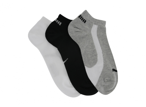Chaussettes Puma Chaussette Sneakers 3 Pairs Blanche