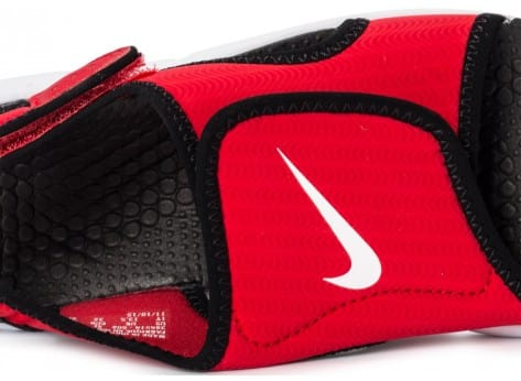 Chaussures Nike Sunray Enfant rouge vue dessus