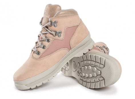 Chaussures Timberland Euro Hiker Mid rose vue intérieure