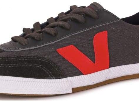 Chaussures Veja VOLLEY GRISE vue dessus