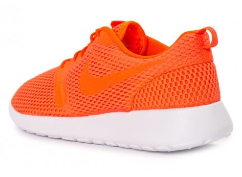 Chaussures Nike Roshe One Hyperfuse BR orange vue arrière