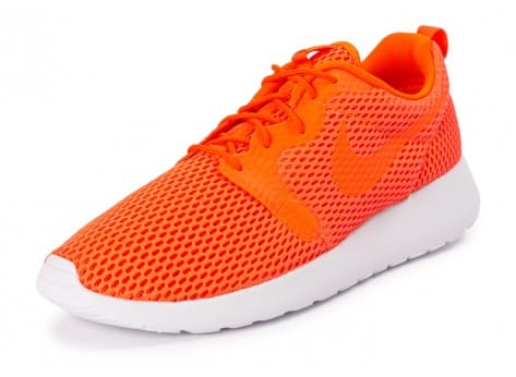 Chaussures Nike Roshe One Hyperfuse BR orange vue avant