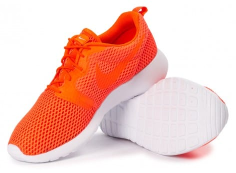 Chaussures Nike Roshe One Hyperfuse BR orange vue intérieure