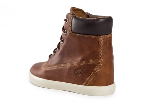 Chaussures Timberland Flannery cuir marron vue arrière