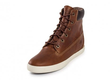 Chaussures Timberland Flannery cuir marron vue avant