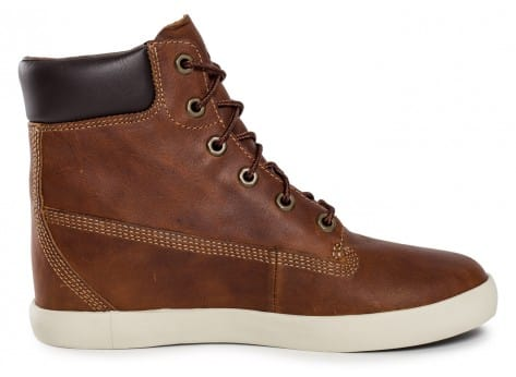 Chaussures Timberland Flannery cuir marron vue dessous
