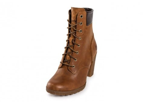 Chaussures Timberland Glancy 6-Inch Boot beige vue avant