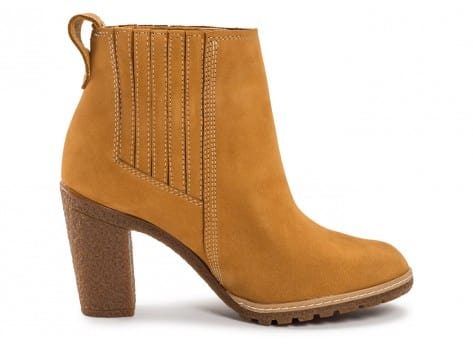 Chaussures Timberland Glancy Chelsea beige vue dessous