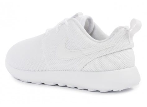 Chaussures Nike Roshe One Enfant blanche vue arrière