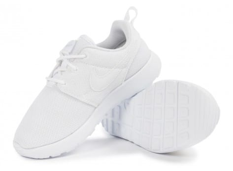 Chaussures Nike Roshe One Enfant blanche vue intérieure