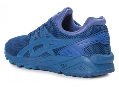 Chaussures Asics Gel Kayano Trainer Evo W bleue vue arrière